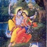 Krishna and Radha