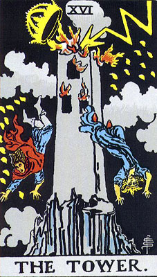 The Tower in tarot