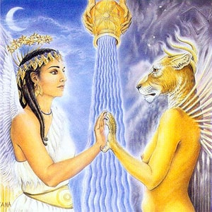 Inanna and Erishigal: Meeting the Shadow of Oneself