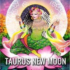 Taurus New Moon 7th May 2016