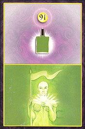 B91 Aura Soma tarot card