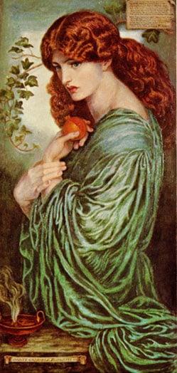 Persephone Prosperina by Rossetti