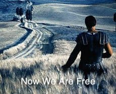 now we are free
