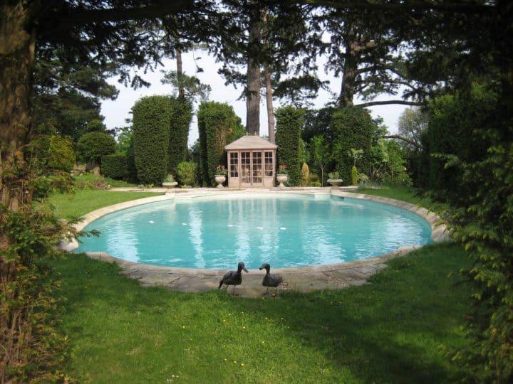 Sedwick park House swimming pool