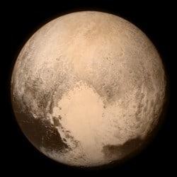 Pluto unmasked