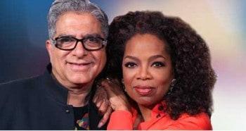Deepak Chopra and Oprah Winfrey