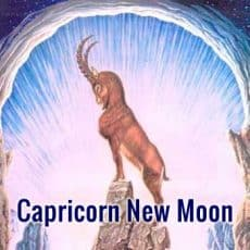 Capricorn New Moon- Commit to the Truth