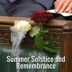 Summer Solstice and the Full Moon A Time of Remembrance