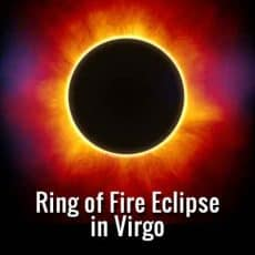 Ring of Fire Eclipse in Virgo