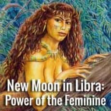 New Moon in Libra and Lilith- the Power of the Feminine