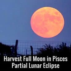 Harvest Full Moon Lunar Eclipse
