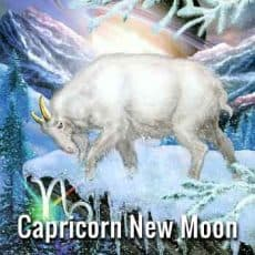 Capricorn New Moon December 29th 2016