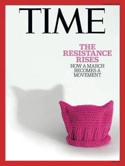 time magazine hat cover