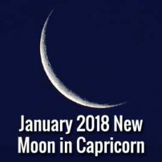 January New Moon in Capricorn