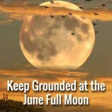 Keep Grounded at this June Full Moon in Capricorn