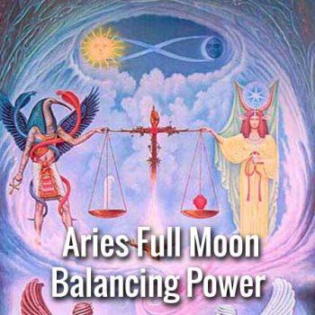 Aries Full Moon 2018