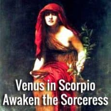 Venus in Scorpio Retrogrades on Oct 5th