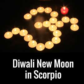 diwali new moon scorpio