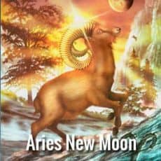 Aries new moon symbol the ram