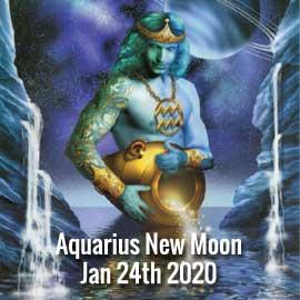 Aquarius New Moon Jan 24th