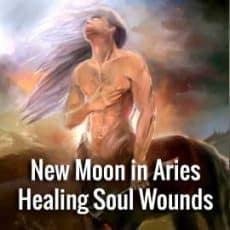 New Moon in Aries Healing Soul Wounds