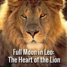 full moon Leo Jan 28 2021