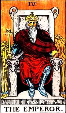 New Moon in Aries and The Emperor in the tarot