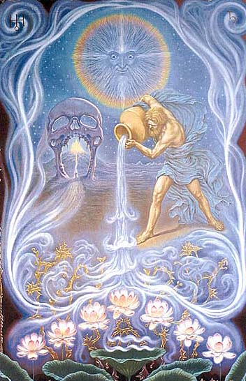 Aquarius and Ganymede by Johfra Bosschart