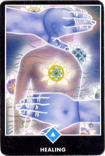 healing card osho