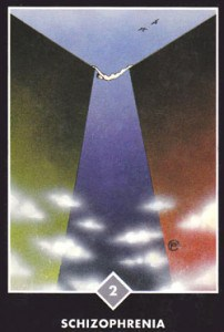 Are you caught in indecision? 2 swords from Osho Zen Tarot